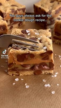 Fun Baking Recipes, Sweet Recipes, Cooking Recipes, Cookie Dough Recipes, Delicious Desserts, Yummy Food, No Bake Desserts, Tasty, Masterchef