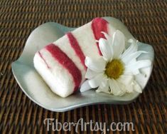 hand felted soap how to, crafts