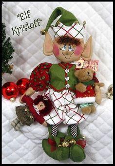 Christmas Elf Doll, Christmas Gingerbread Men, Christmas Ornaments, Elf Me, The Elf, Elf Yourself, Candy Wreath, Pumpkin Centerpieces, Cute Pattern