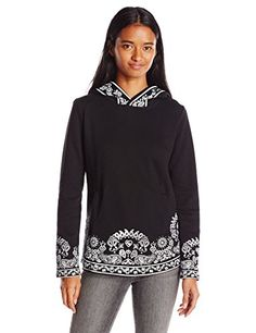 Metal Mulisha Juniors Adora Pullover Fleece Sweatshirt Jet Black Small *** Click on the image for additional details.
