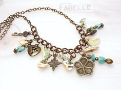 Fabelle UNIKAT Hippie Style - MARITIM Halskette von Fabelle auf DaWanda.com