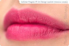 Photo. Beauty. Makeup.: Fragola Art Design Lipstick + Professional Lip Pencil №17 by Collistar
