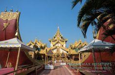 MYANMAR Reisetipps: YANGON | Hier bekommst du die besten Insidertipps für deine Reise nach Yangon in Myanmar: Hotels, Gästehäuser, Kosten, Anreise, Karten, Maps, Restaurants, Eintrittspreise, Reiseberichte uvm. www.MyanmarBurmaBirma.com | Karaweik Palace im Kandawgyi-Park