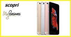 Apple iPhone 6S + Sim Ricaricabile Unlimited Plus  ✔30 GB di Internet  ✔Minuti illimitati in Italia e all'estero  ✔ 400 Sms ✔Apple iPhone 6S Incluso Tutto 35€ al mese! Compila ADESSO con i tuoi dati il modulo che trovi cliccando sul link sottostante. ATTENZIONE: L'Offerta può essere attivata solo se hai la PARTITA IVA e solo se non sei già cliente 3.  http://www.megasite.it/6s/   #Tariffe #3Italia #Telefonia #Offerte #Smartphone #SMS #Internet #Promozioni #business #tre #aziende #pmi