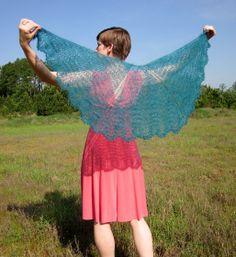 Mariposa Shawl - Knitting Patterns and Crochet Patterns from KnitPicks.com