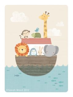Noah's Ark by Sarah Ward