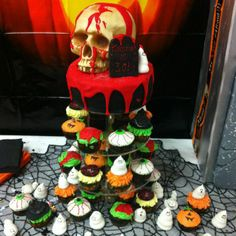 Halloween Assorted Cakes