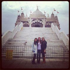 February 17, 2014: #StudyAbroad in #London - A Visit to Neasden Temple by CAPA Alumna Jen Ritinski