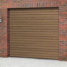 Cardale Steeline Mini Roller Garage Door (Woodgrain Laminate)