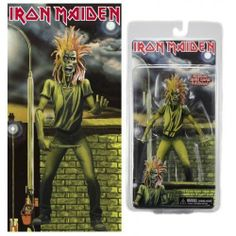 """Neca Iron Maiden 7"""" Action Figure by Neca. $22.15. Based on the legendary Iron Maiden 1980 debut album, this highly-detailed figure is founded on the artwork of the heavy metal classic. Straight from the cover, this 7"""" figure has loads of articulation and includes a knife accessory. Blister card packaging.. Based on the legendary Iron Maiden 1980 debut album, this highly-detailed figure is founded on the artwork of the heavy metal classic. Straight from the cover, this 7"""" fig..."""