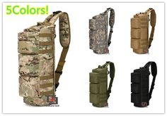 Camouflage Hiking Camping Bag Army Military Tactical Trekking Rucksack Backpack CS Wargame Waterproof Airborne Rucksack