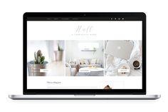 HALL: Premium Wix Template by ksarment on Website Design Inspiration, Website Design Layout, Business Brochure, Business Card Logo, Wordpress, Portfolio Site, Design Strategy, Business Illustration, Paint Markers