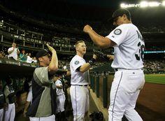VIVA LAS VARGAS. Jason throws 8 innings of 1-hit ball in 4-1 #Mariners win vs. #Royals. 7/26/12