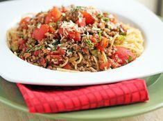 Week of 2/12 ~ Erin's Chunky Spaghetti Sauce | 5DollarDinners.com