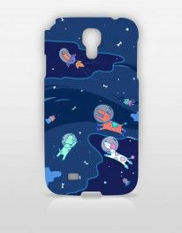 [SINGAPORE ARTIST]  Space Dog by ANNGEE. Rocketing into the Galaxy with a space travel theme, Anngee's cover designs depict a quirky, rainbowlicious world where creatures on other planets are free to do their own thing.