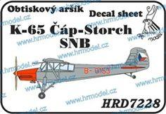 1:72 K-65 Čáp-Storch SNB
