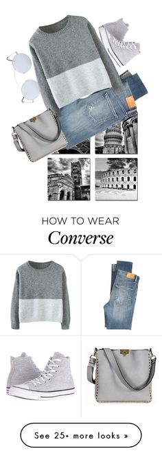 """""""This Sweater"""" by detroitgurlxx on Polyvore featuring Citizens of Humanity, Valentino, Converse and Spektre"""