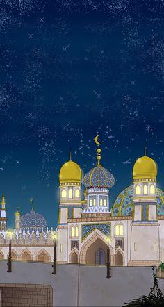 Iphone5 wallpaper Arabian night