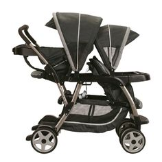 Graco Ready2grow Click Connect LX Stroller - If you have two children, you're sure to use this double stroller for years.