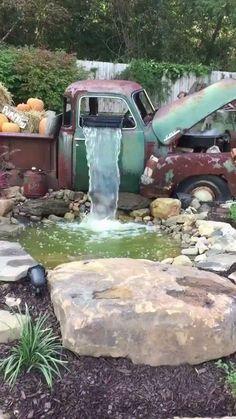 An old truck now used as a garden waterfall. http://ift.tt/2fatfRC via /r/woahdude http://ift.tt/2eewxyn
