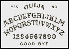 Ouija Cross Stitch Pattern