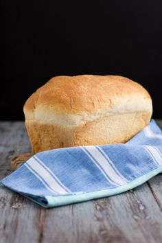 Simple Homemade White Bread