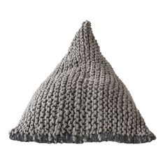 This bean bag is made of wool in a chunky knit finish. Sloths For Sale, Weylandts, Africa, Crochet Hats, Beanie, Wool, Knitting, Bags, Fashion