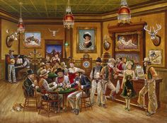 Old West Most Famous Painting | Me,again...and uniformity,but also old west and chupacabra...