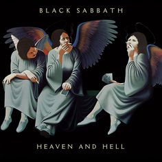 Absolutley my favourite metal album of all time.  RJD brought a whole new life to Sabbath with this one. Black Sabbath - 1980 - Heaven And Hell