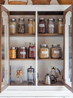 If you're ready to whip your kitchen back into shape, here are some small DIY upgrades that will help you organize your kitchen. From freezer containers to finally keep the Popsicles and veggies separated, to cleverly making use of cabinet doors to stow things, these projects will change the game.