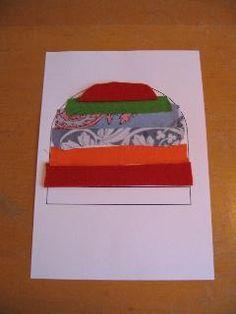 Winter platte vlak knutselen – Juf Sanne