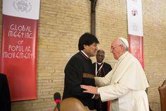 Francisco mascará hojas de coca en Bolivia :: América :: Religión Digital