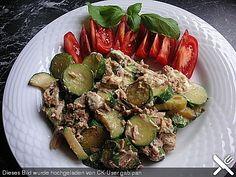 Zucchini - Thunfischpfanne -low carb