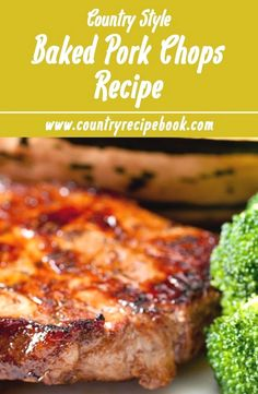 NOT GOOD Not great Oven baked pork chops recipe. Awesome and easy recipe to make this country style dish in no time. Uses brown sugar, ketchup and onion to create the most amazing oven baked pork chops you have ever had. Slow Cooking, Cooking Recipes, Cooking Corn, Cooking Tips, Cooking Light, Cooks Country Recipes, Cooking Games, Cooking Turkey, Italian Cooking