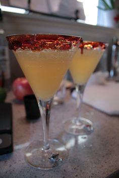 Sinister Cider Cocktail Ingredients Fine black sanding sugar (or use ...