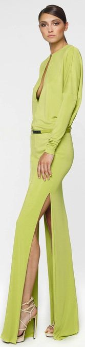 Resort 2014 KaufmanFranco look Green Fashion, Love Fashion, Fashion Show, Fashion Design, Gq, Mode Glamour, Estilo Fashion, Dress Images, Mode Style