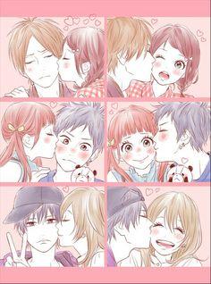 I'm so mad that zen didn't end up with shimana UGHH Manga Anime, Manga Art, Anime Art, Couple Manga, Anime Love Couple, Anime Couples Drawings, Anime Couples Manga, Anime Comics, Kawaii Anime
