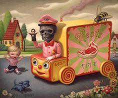 Pop Surrealism king: Mark Ryden the Meat Show. Mark Ryden, Arte Lowbrow, Meat Art, Arte Peculiar, Creepy Cute, Objet D'art, Designer Toys, Art Design, Surreal Art
