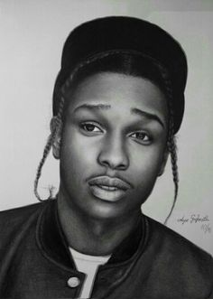 ASAP rocky drawing by me
