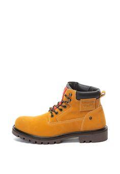 Bocanci de piele nabuc Hodges Levis, Lacoste, Versace, Hiking Boots, Converse, Mens Fashion, Couture, Casual, Shoes