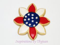 4th of July Flower - Inspirations by Thyjuan