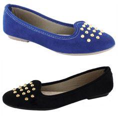 1242c68616 Sapatilha Detalhe com Spikes Azul - Queima de Estoque