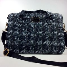 MARC BY MARC JACOBS WOMENS BRIEFCASE/MESSENGER BAG INDIGO MULTI NWT #Any