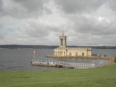 Normanton Church at Rutland Water, UK