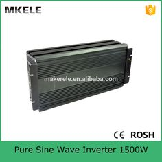154.38$  Buy here - http://alip3x.worldwells.pw/go.php?t=32495081771 - MKP1500-122B 1500 watt inverter 12v to 240v inverter home power inverter 1500 watt single output pure sine wave inverter 154.38$