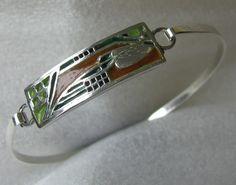 armband van Tine Hardeman 4e internationale expositie van sieraden met emaille
