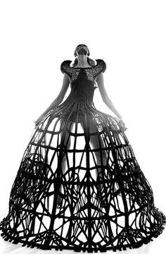 Eliza Kukawska for Malgorzata Dudek 'Arachne' look book