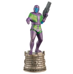 Kang (Black Rook) | Marvel Chess | Eaglemoss Collections