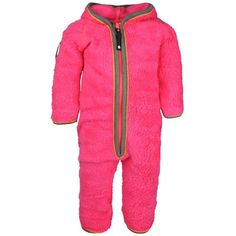 Unity Fleece Suit Pink Glow