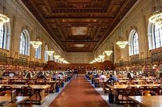 New York Public Library — New York, N.Y. | 49 Breathtaking Libraries From All Over The World